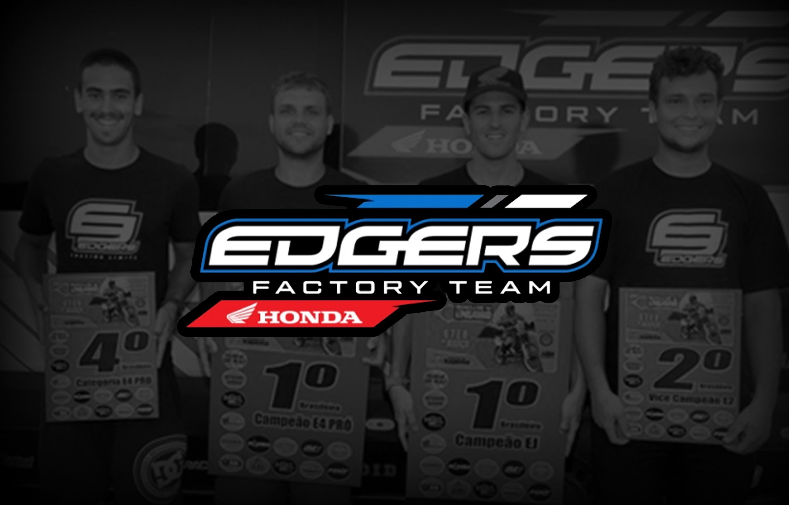 Edgers Factory Team é patrocinado pela Vedamotors em 2020
